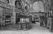 1 vue  - église de Brou - le choeur (ouvre la visionneuse)
