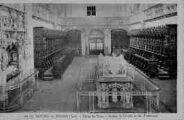 1 vue  - église de Brou - stalles du choeur et les tombeaux (ouvre la visionneuse)