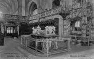 1 vue  - église de Brou - mausolée du choeur (ouvre la visionneuse)