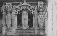 1 vue  - église de Brou - figures du mausolée de Philibert le Beau (ouvre la visionneuse)