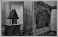 1 vue  - église de Brou - oratoire et lutrin de Marguerite d'Autriche (ouvre la visionneuse)