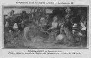 1 vue  - Eglise de Brou - Exposition d'art religieux ancien - Août-Septembre 1933 - Descente de croix - panneau central du triptyque de Chatillon-sur Chalaronne - début du XVIe siècle (ouvre la visionneuse)