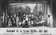 1 vue  - Souvenir de la revue Brou? Ah ! Ah ! - Novembre 1925, Décors de H. Hugrel (ouvre la visionneuse)