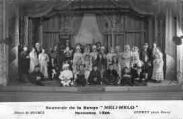 1 vue  - Souvenir de la revue Meli-Mélo - Novembre 1926, Décors de H. Hugrel (ouvre la visionneuse)