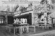 1 vue  - Eglise de Brou - Tombeau de Philibert-le-Beau et Mausolée de Marguerite d'Autriche (ouvre la visionneuse)