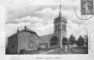 1 vue  - la Place et l'Eglise (ouvre la visionneuse)