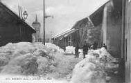 1 vue  - L'hiver - La rue (ouvre la visionneuse)
