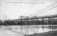 1 vue  - le pont de Briord, sur le Rhône (ouvre la visionneuse)