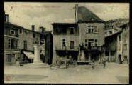 1 vue  - Place et statue Allombert (ouvre la visionneuse)