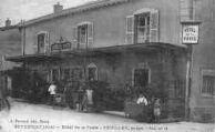 1 vue  - hôtel de la Poste -Veuillet (ouvre la visionneuse)