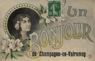 1 vue  - un bonjour de Champagne-en-Valromey (ouvre la visionneuse)