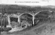 1 vue  - pont de Pyrimont, sur le Rhône (ouvre la visionneuse)