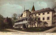 1 vue  - Château de Quinsonnas construit en 1161 - la façade (ouvre la visionneuse)