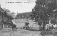 1 vue  - le Château de Chanay - vue intérieure (ouvre la visionneuse)