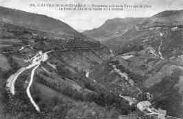 1 vue  - panorama pris de la Tour sur la gare, pont de Coz et vallée (ouvre la visionneuse)