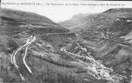 1 vue  - vue panoramique sur la Semine, usine éléctrique, gare (ouvre la visionneuse)
