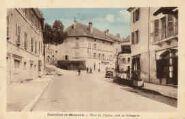 1 vue  - place de l'Eglise côté de Bellegarde (ouvre la visionneuse)