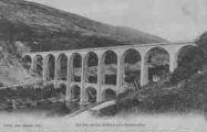 1 vue  - joli pont de Cize-Bolozon sur la rivière d'Ain (ouvre la visionneuse)