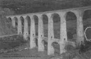 1 vue  - viadux de Cize-Bolozon sur la rivière d'Ain (ouvre la visionneuse)