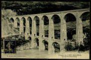1 vue  - Viaduc de Cize-Bolozon sur la Rivière d'Ain (ouvre la visionneuse)