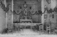1 vue  - intérieur de la chapelle de Bellor (ouvre la visionneuse)