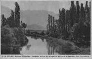 1 vue  - environs immédiats - confluent du lac du Bouget et du canal de Savières (Phot. Tournassoud) (ouvre la visionneuse)