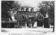 1 vue  - avenue de la Gare et hôtel des etrangers (ouvre la visionneuse)