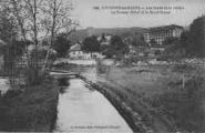 1 vue  - les bords de la rivières, le Nouvel Hôtel et le Mont-Mussy (ouvre la visionneuse)