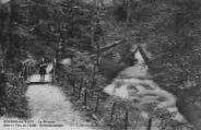 1 vue  - la Divonne dans le parc de l'établissement hydrothérapique (ouvre la visionneuse)