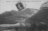 1 vue  - confluent de l'Ain et de la Bienne et les Monts du Jura (ouvre la visionneuse)