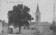 1 vue  - la place et l'église (ouvre la visionneuse)