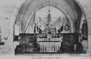 1 vue  - le choeur de l'église (ouvre la visionneuse)