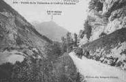 1 vue  - vallée de la Valserine et crêt de Chalame (ouvre la visionneuse)