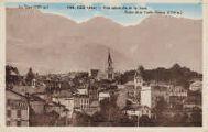 1 vue  - vue générale et le Jura Roche de la Vieille-Maison (1514m) (ouvre la visionneuse)