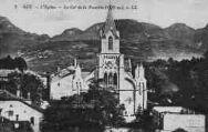 1 vue  - l'église - le col de la Faucille (ouvre la visionneuse)