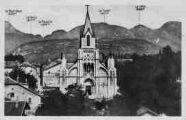 1 vue  - l'église et les sommets du Jura (ouvre la visionneuse)