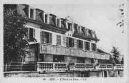 1 vue  - l'hôtel du Parc (ouvre la visionneuse)