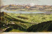 1 vue  - Genève, Gex, Divonne et la savoie, panorama du col de la Faucille (ouvre la visionneuse)