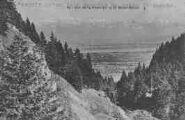 1 vue  - col de la Faucille et le Mont-Blanc (ouvre la visionneuse)