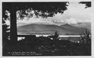1 vue  - la Faucille - Gex - lac Léman et le Mont-Blanc vus de la Redoute (ouvre la visionneuse)