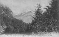 1 vue  - aperçu sur le Mont-Blanc, depuis le sentier de Gex (ouvre la visionneuse)
