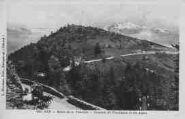 1 vue  - route de la Faucille - sommet de Florimont et les Alpes (ouvre la visionneuse)
