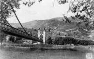 1 vue  - le pont du port de Groslée (ouvre la visionneuse)