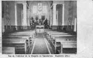 1 vue  - vue de l'intérieur de la chapelle du sanatorium (ouvre la visionneuse)