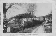 1 vue  - Lompnès. Le village et le Château (ouvre la visionneuse)