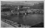 1 vue  - Génissiat-ensemble des installations rive droite (1948) (ouvre la visionneuse)