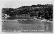 1 vue  - Génissiat-la vallée du Rhône et les coteaux de Haute-Savoie an amont du grand barrage (ouvre la visionneuse)