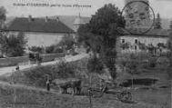 1 vue  - entrée d'Izernore par la route d'Oyonnax (ouvre la visionneuse)