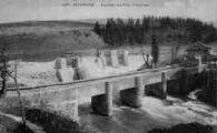 1 vue  - barrage au pont d'Intriaz (ouvre la visionneuse)