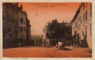1 vue  - place de la Fontaine d'Or et rue des Cafés (ouvre la visionneuse)